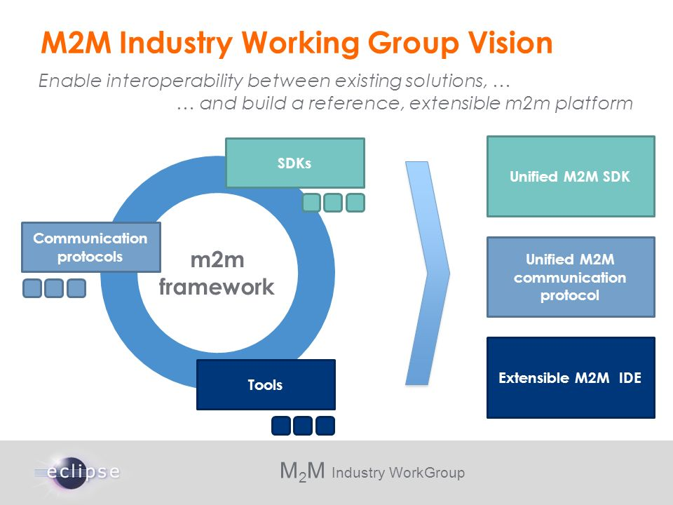 M2M Industry Working Group Vision