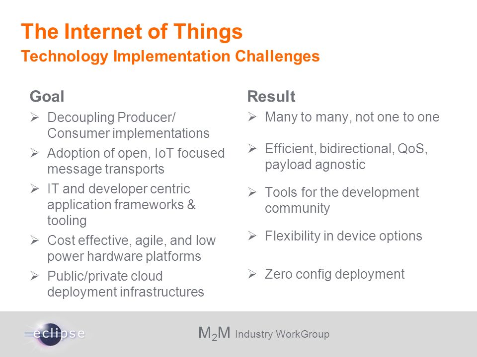 The Internet of Things Technology Implementation Challenges Goal