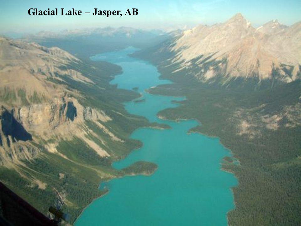 Glacial Lake – Jasper, AB