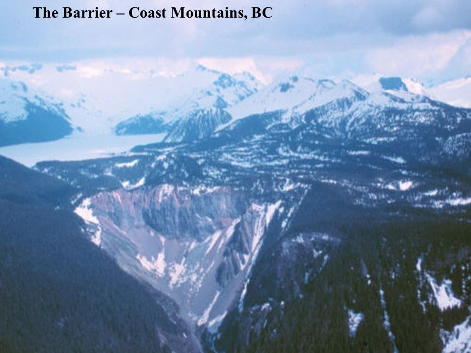 The Barrier – Coast Mountains, BC