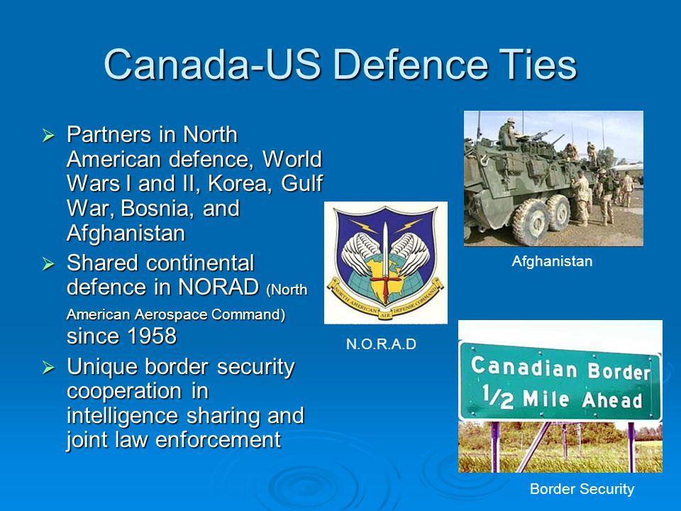 Canada-US Defence Ties