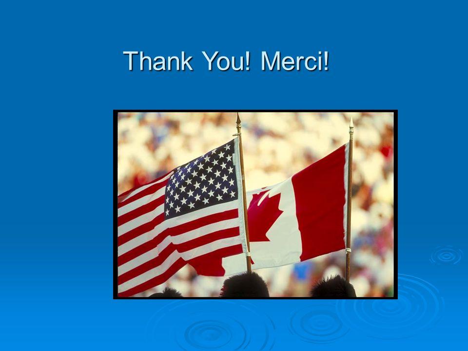 Thank You! Merci!