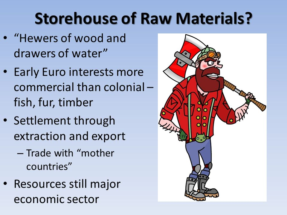 Storehouse of Raw Materials