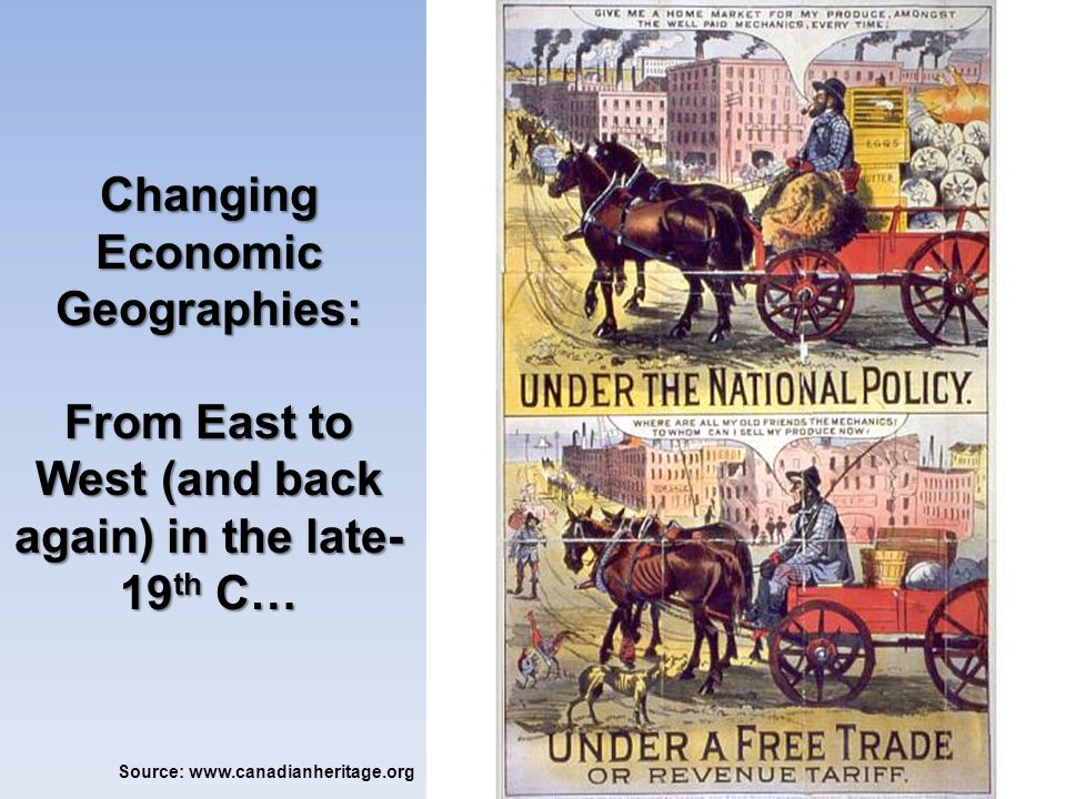Changing Economic Geographies: