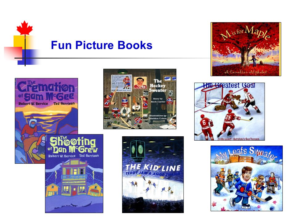 Fun Picture Books Textbooks – Canada Northern Neighbor (display)