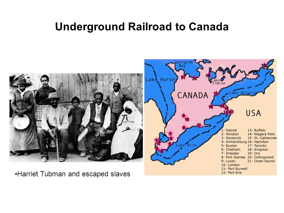 Underground Railroad to Canada