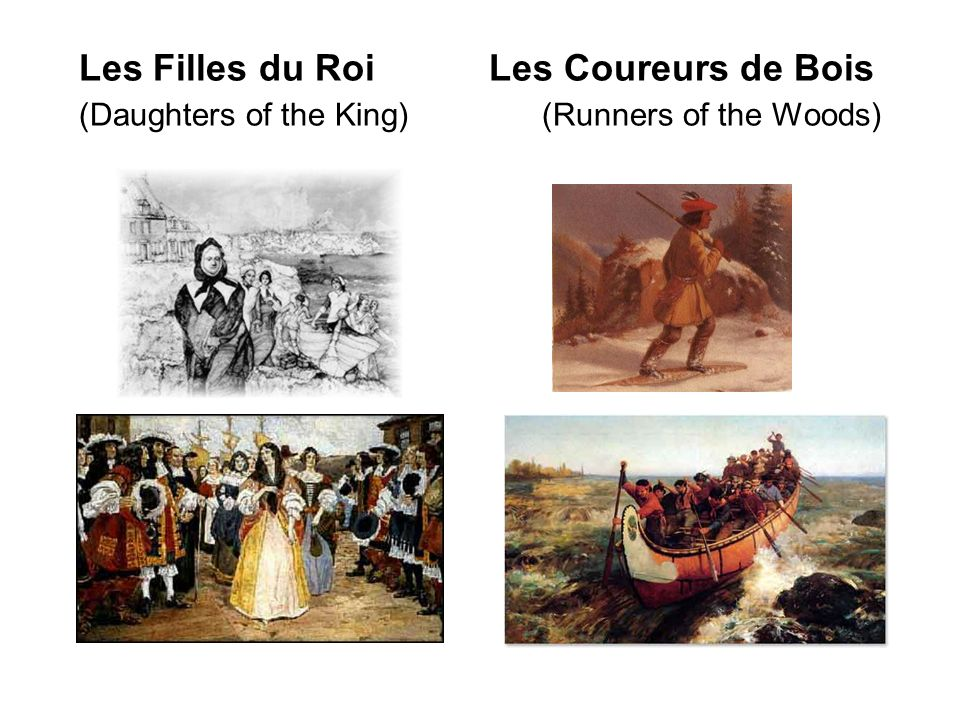 Les Filles du Roi Les Coureurs de Bois (Daughters of the King) (Runners of the Woods)