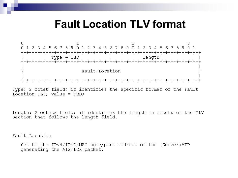 Fault Location TLV format