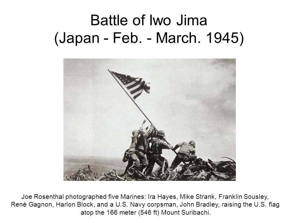 Battle of Iwo Jima (Japan - Feb. - March. 1945)