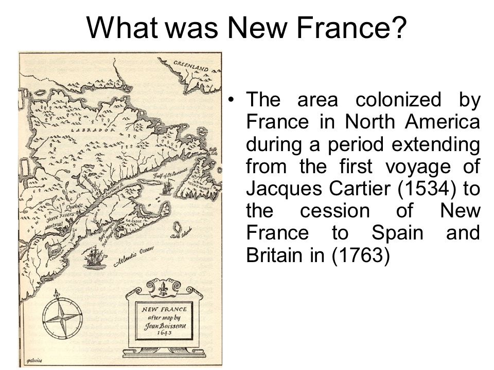What was New France