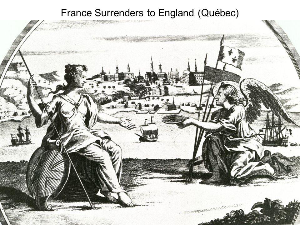France Surrenders to England (Québec)