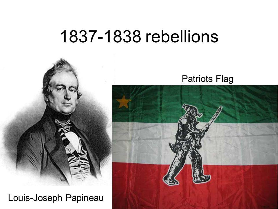 1837-1838 rebellions Patriots Flag Louis-Joseph Papineau
