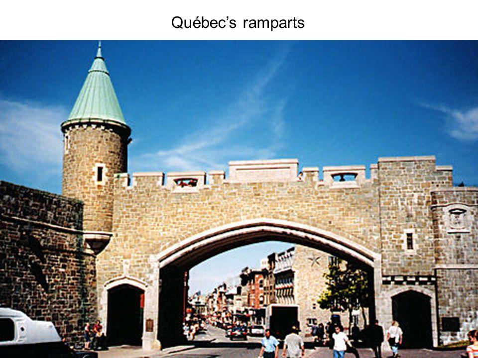 Québec's ramparts