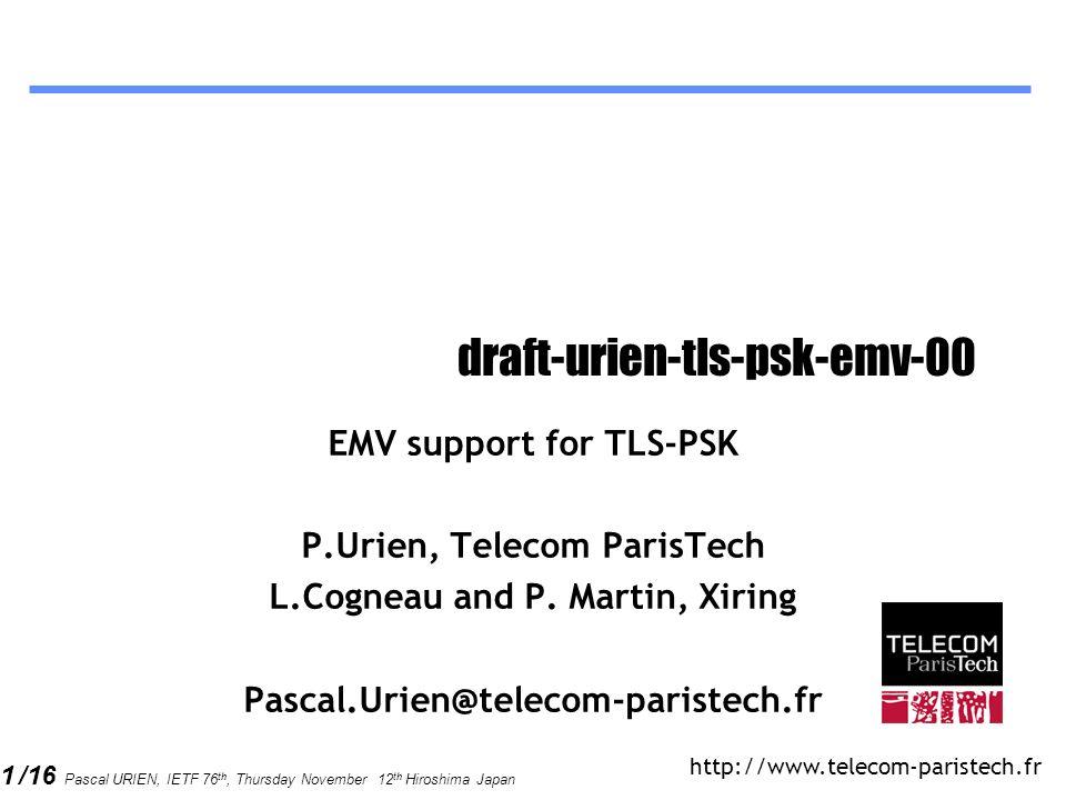 draft-urien-tls-psk-emv-00