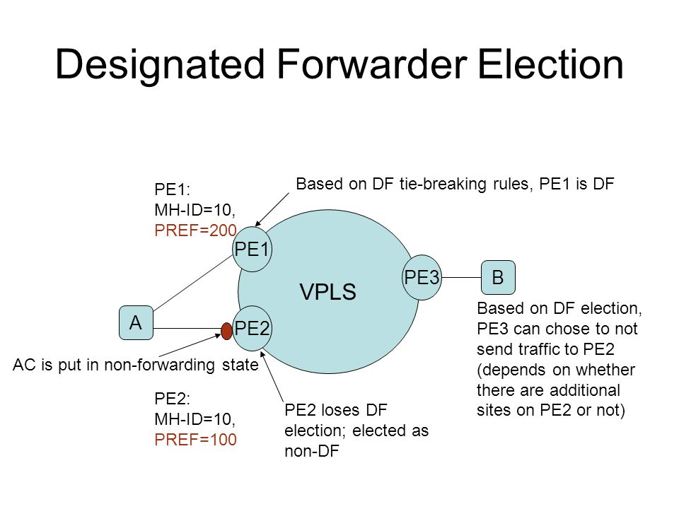 Designated Forwarder Election