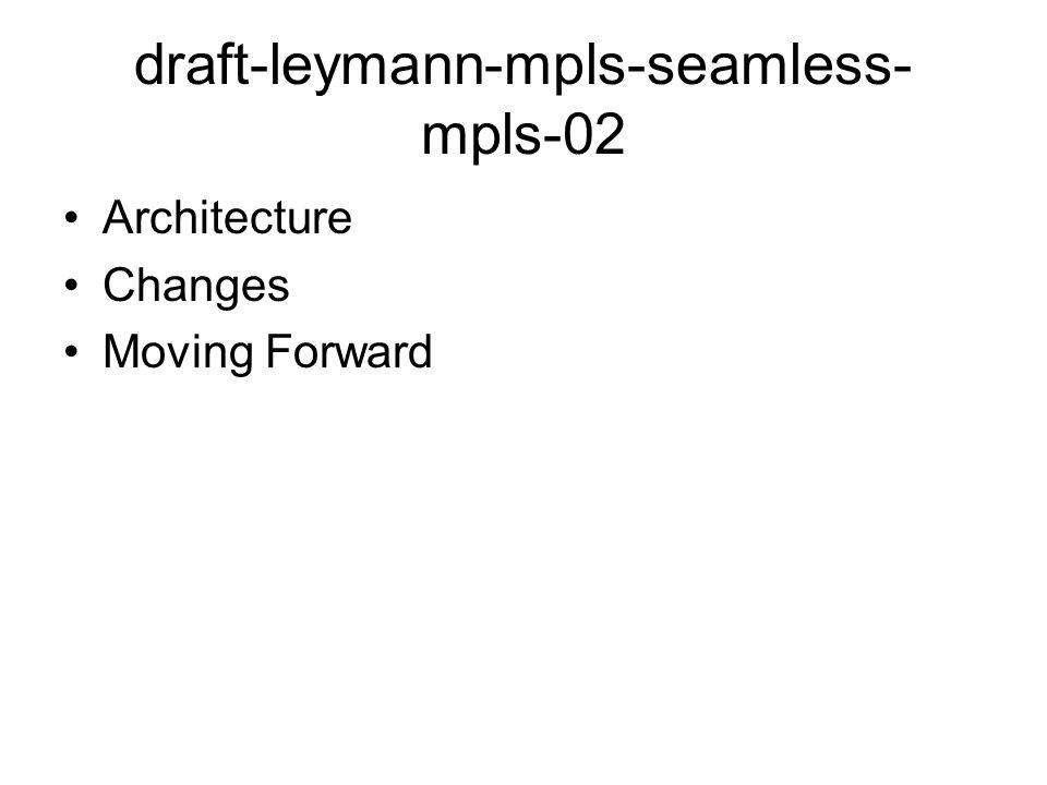 draft-leymann-mpls-seamless-mpls-02