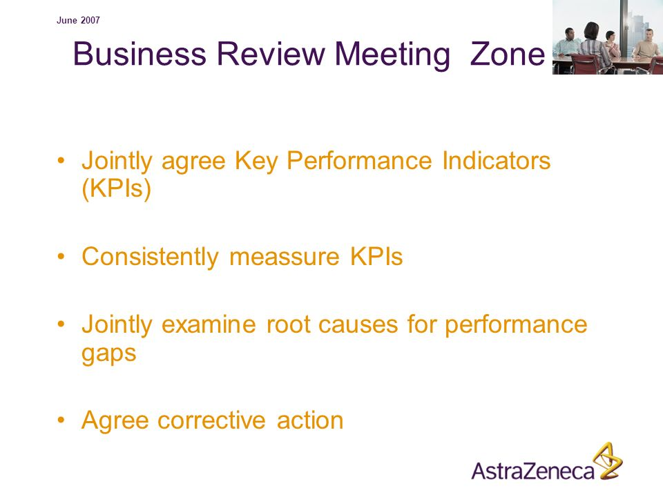 Business Review Meeting Zone