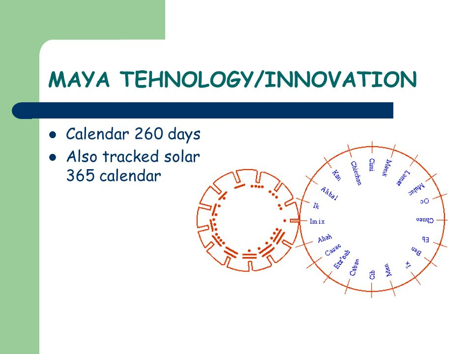 MAYA TEHNOLOGY/INNOVATION