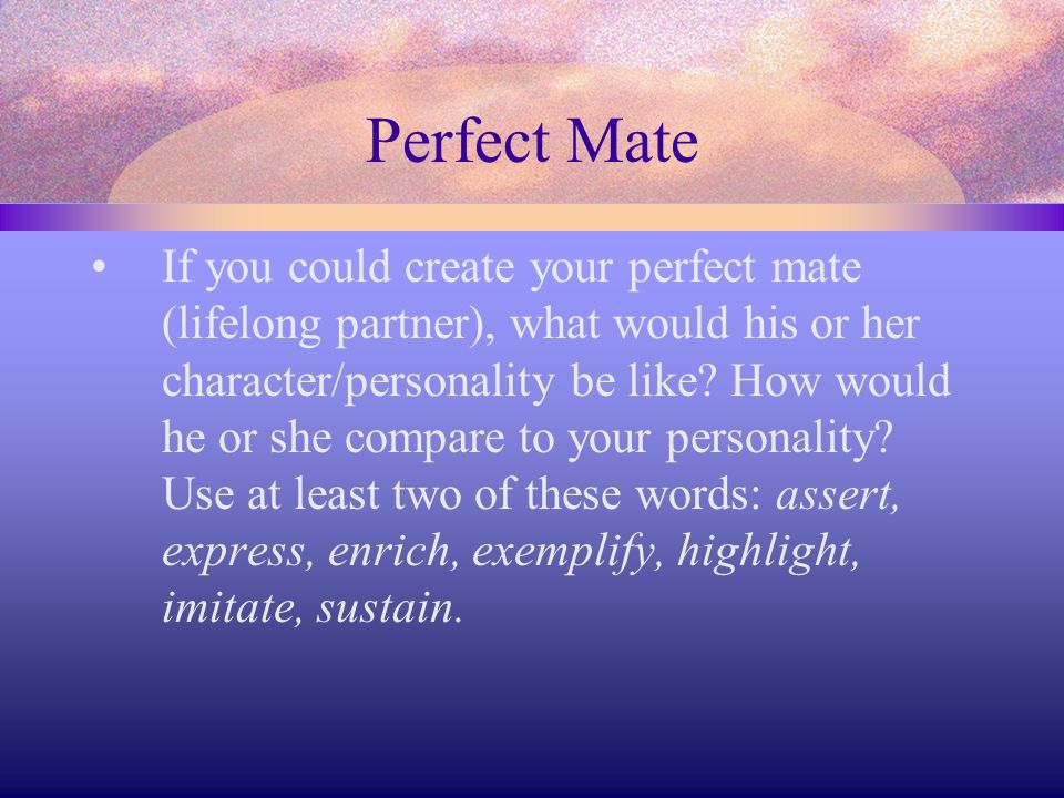 Perfect Mate