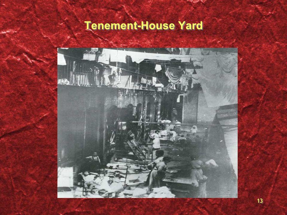 Tenement-House Yard