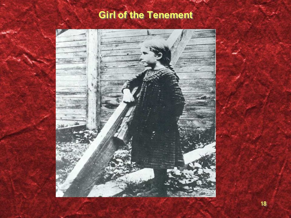 Girl of the Tenement