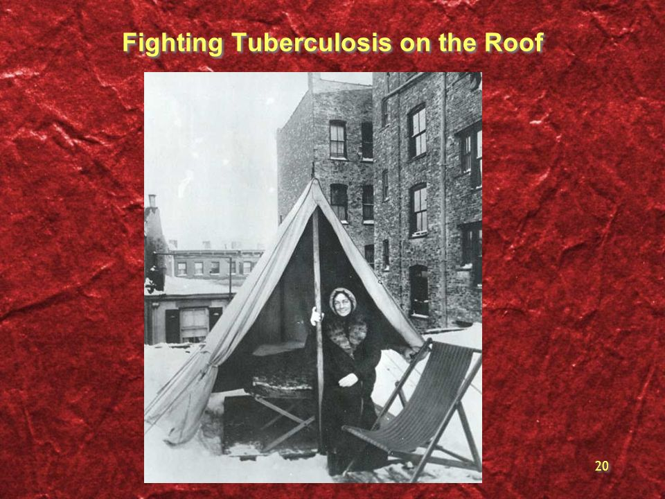 Fighting Tuberculosis on the Roof