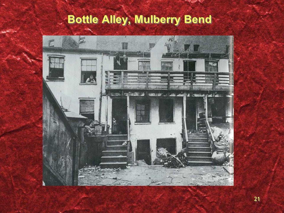 Bottle Alley, Mulberry Bend