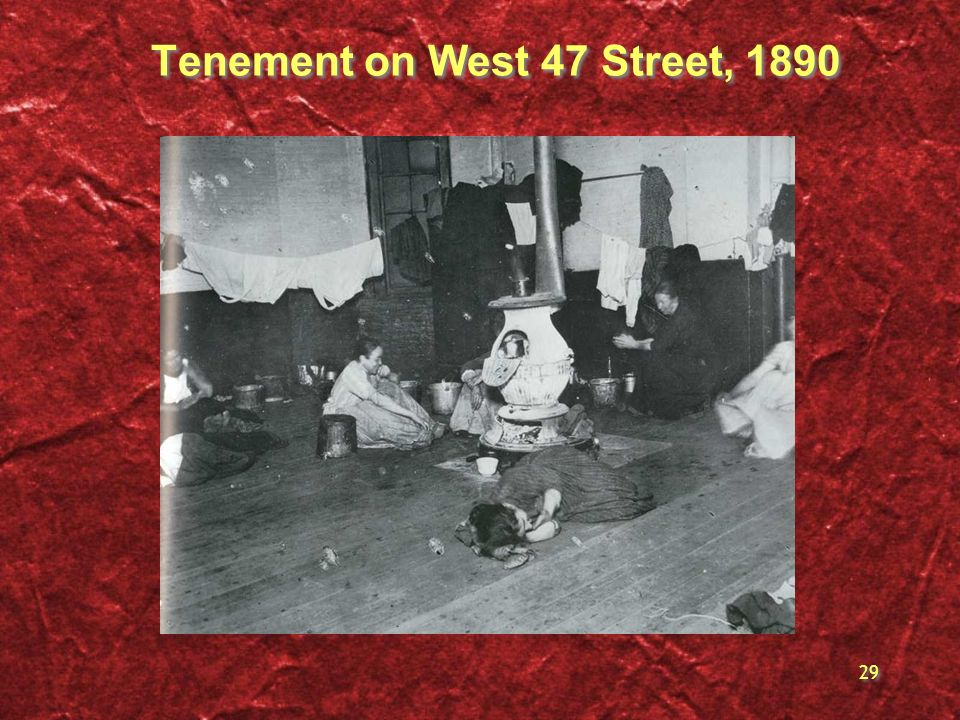 Tenement on West 47 Street, 1890