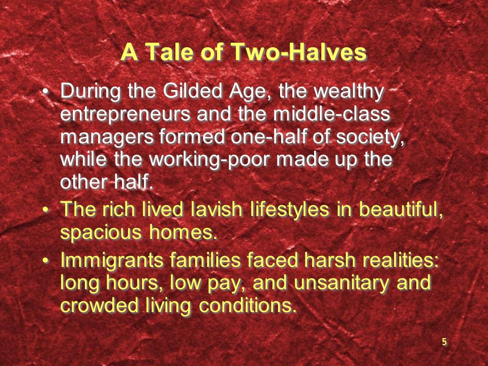 A Tale of Two-Halves
