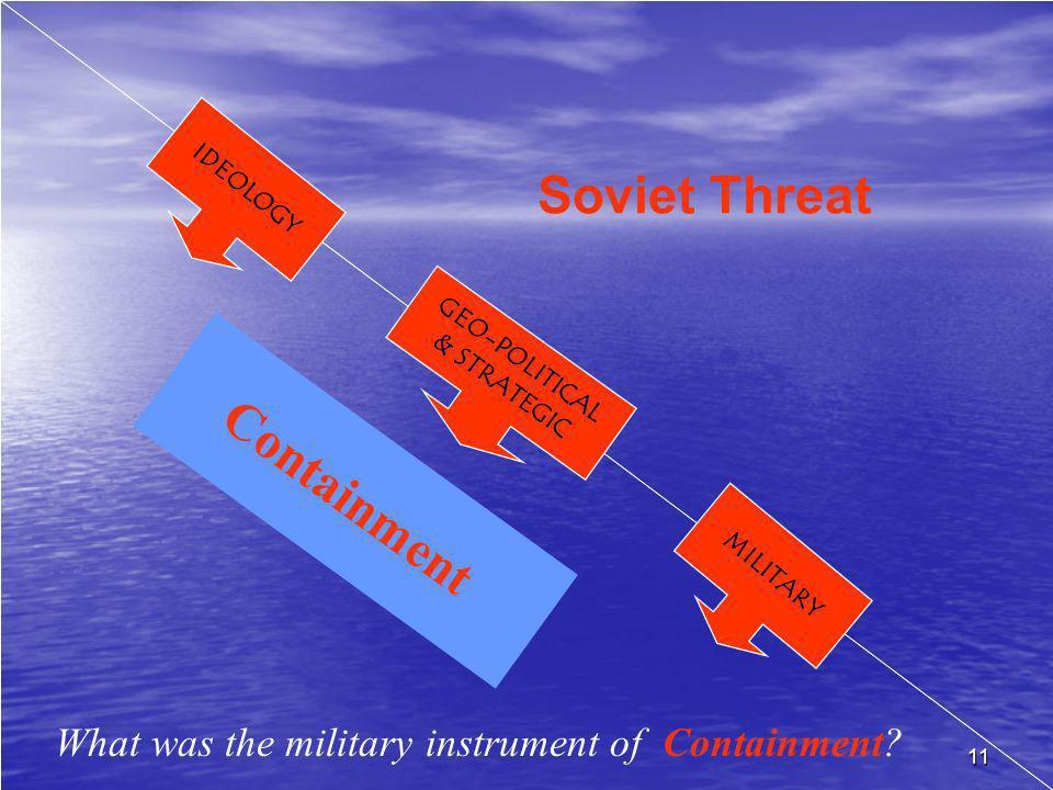 Soviet Threat Containment