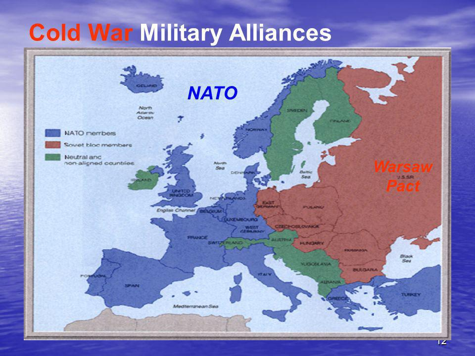 Cold War Military Alliances