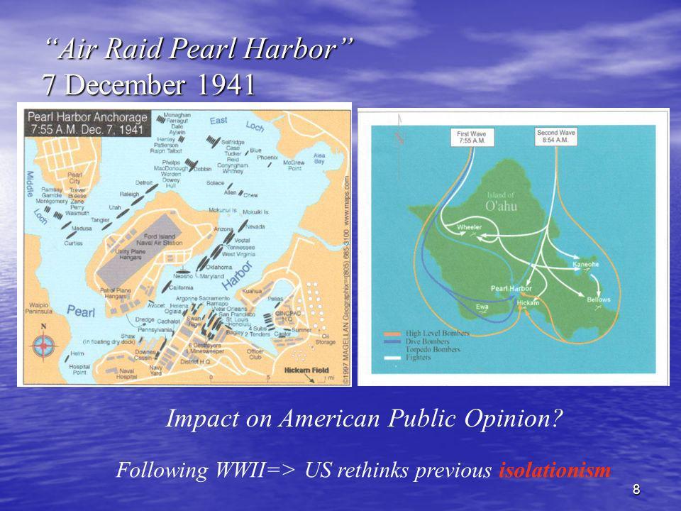 Air Raid Pearl Harbor 7 December 1941