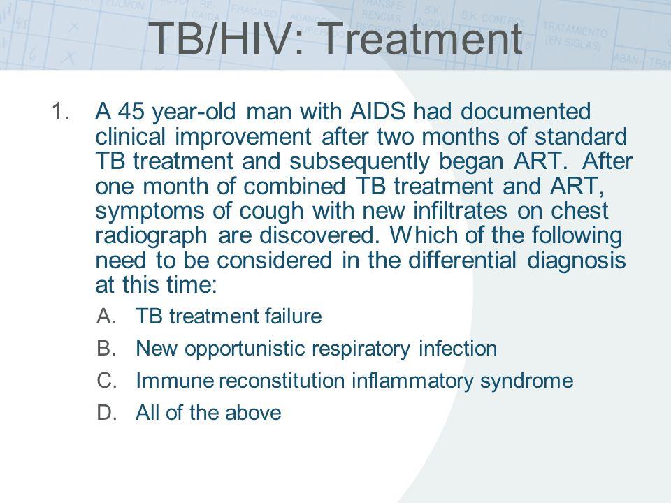 TB/HIV: Treatment