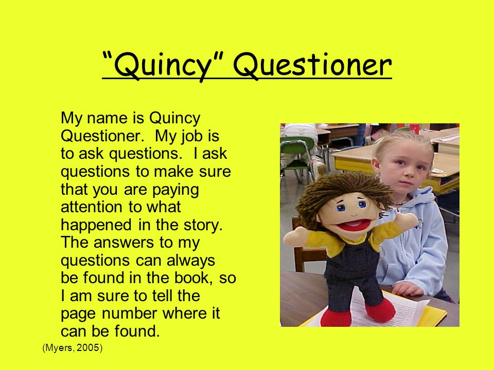 Quincy Questioner