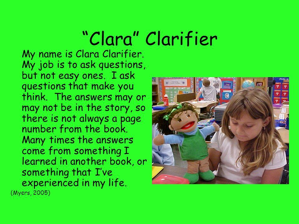 Clara Clarifier