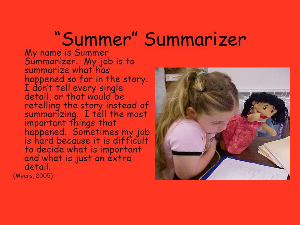 Summer Summarizer