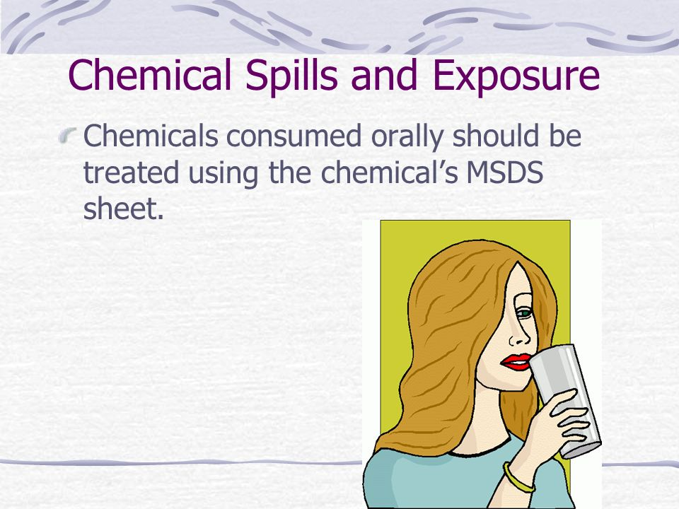 Chemical Spills and Exposure