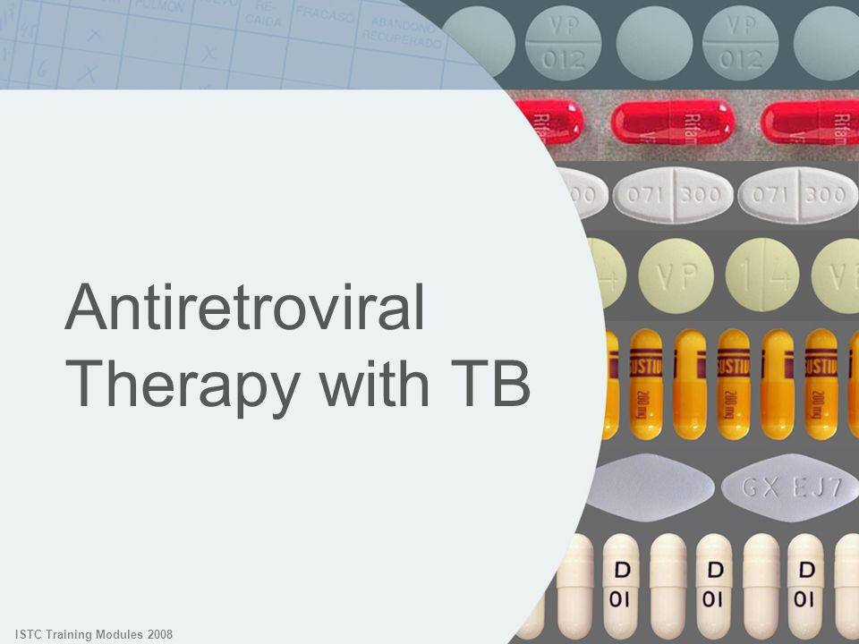Antiretroviral Therapy with TB