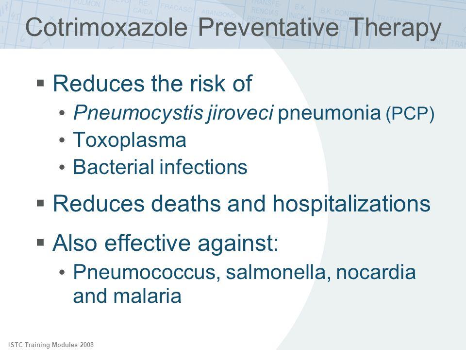 Cotrimoxazole Preventative Therapy