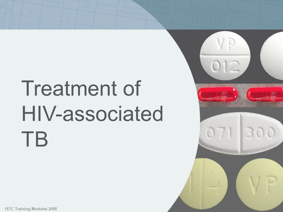 Treatment of HIV-associated TB