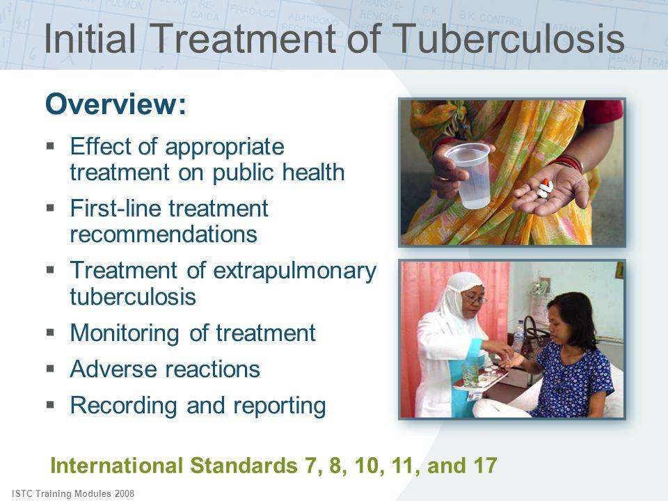 Initial Treatment of Tuberculosis