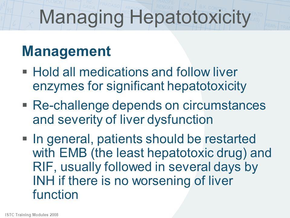 Managing Hepatotoxicity