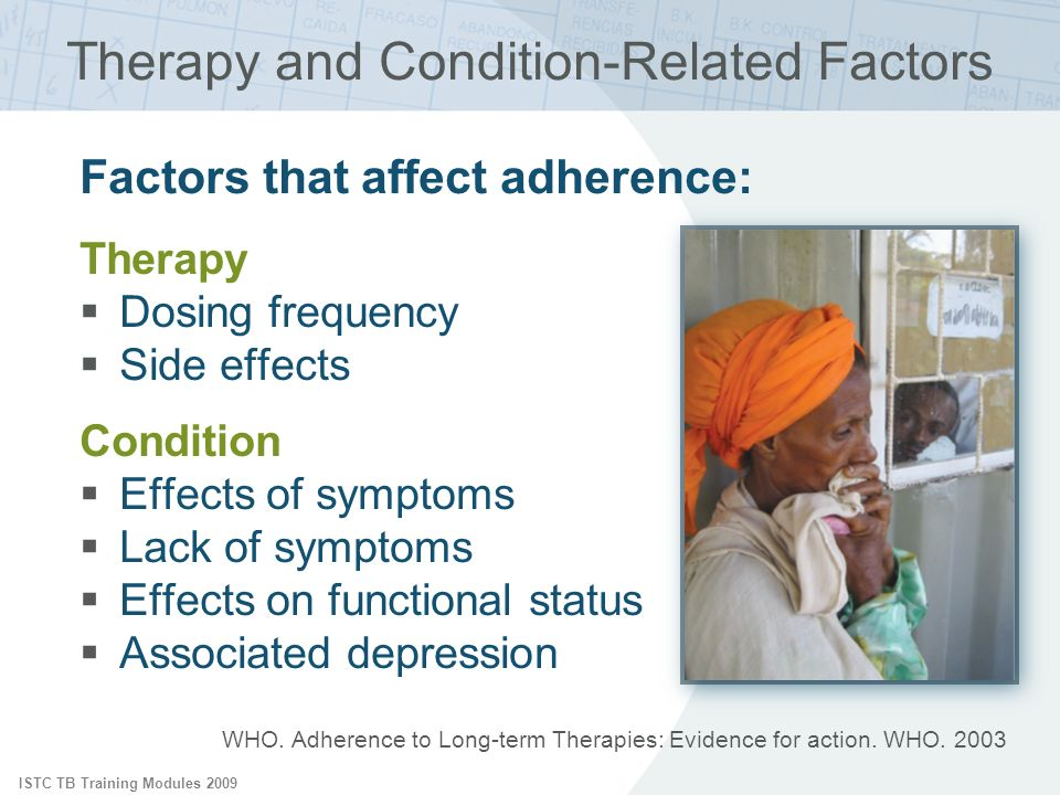 Therapy and Condition-Related Factors