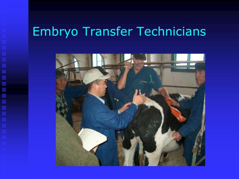 Embryo Transfer Technicians