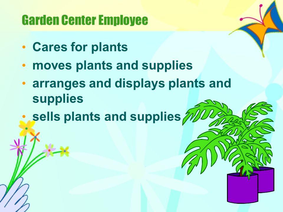 Garden Center Employee