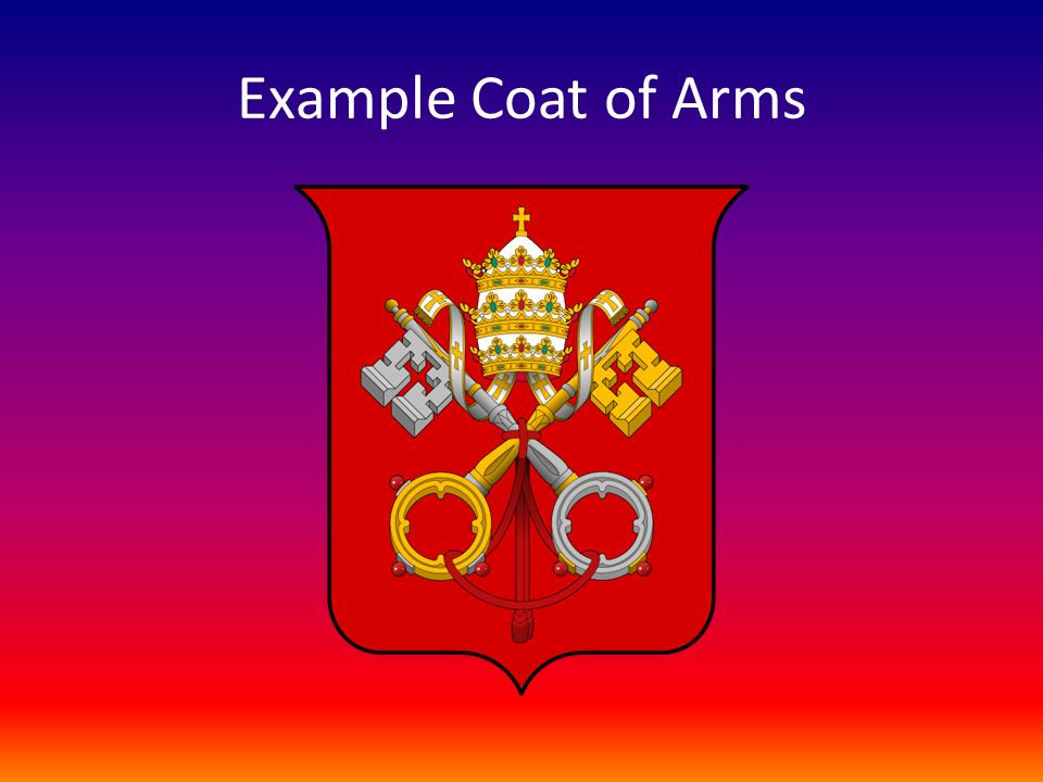 Example Coat of Arms