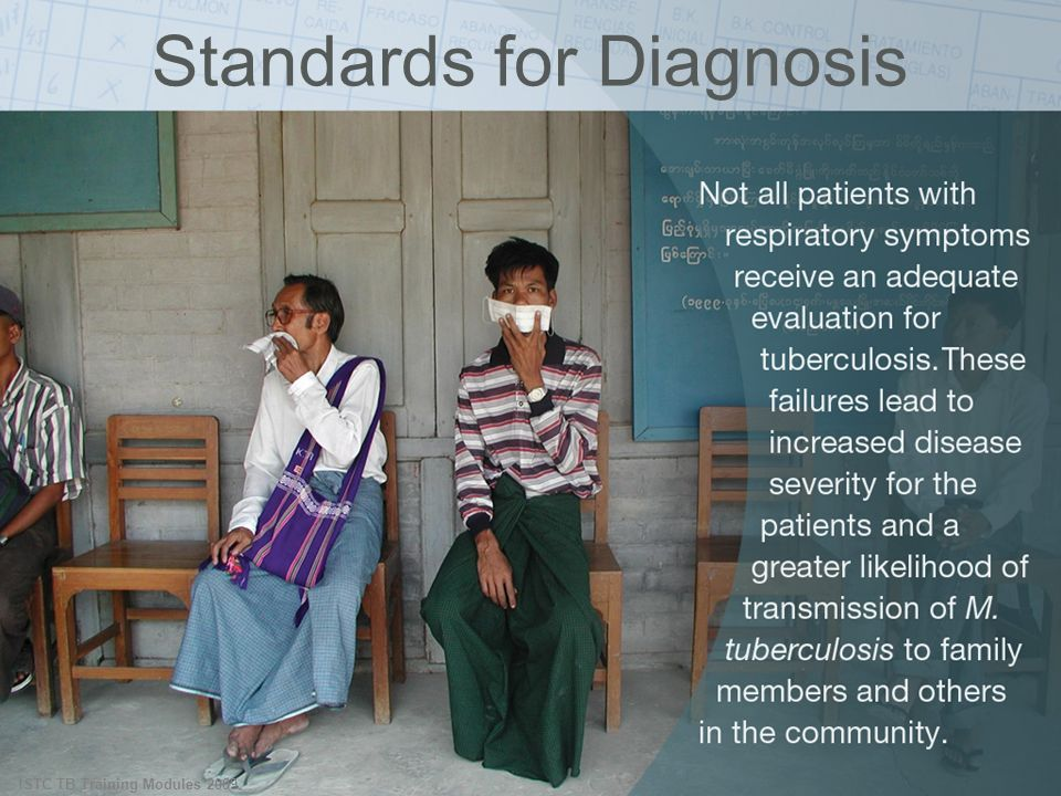 Standards for Diagnosis