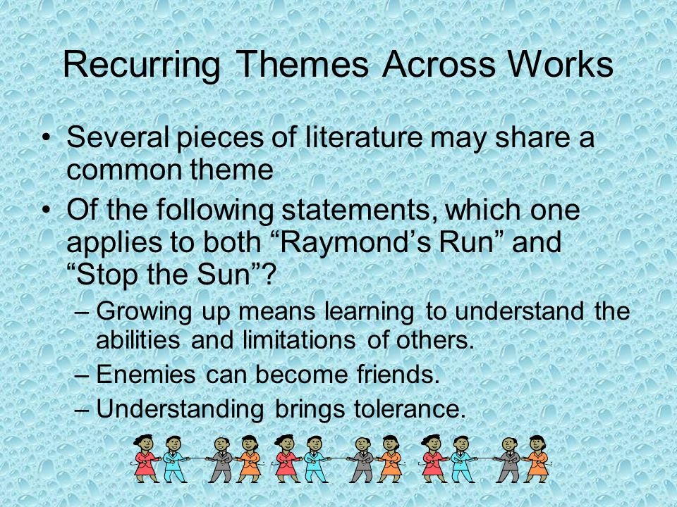 Recurring Themes Across Works