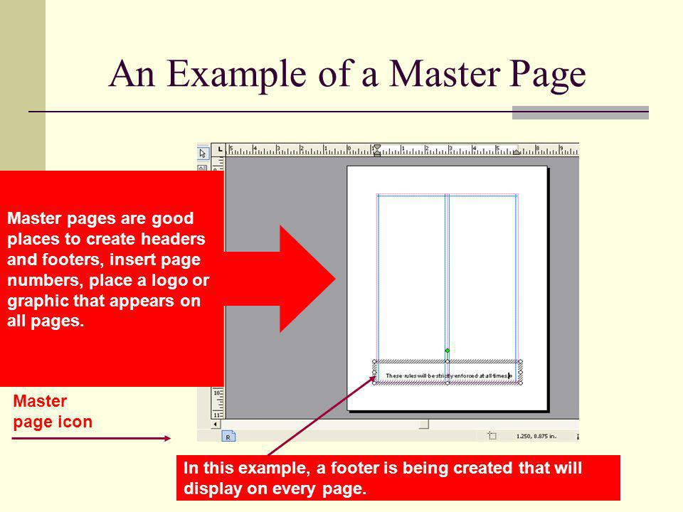 An Example of a Master Page