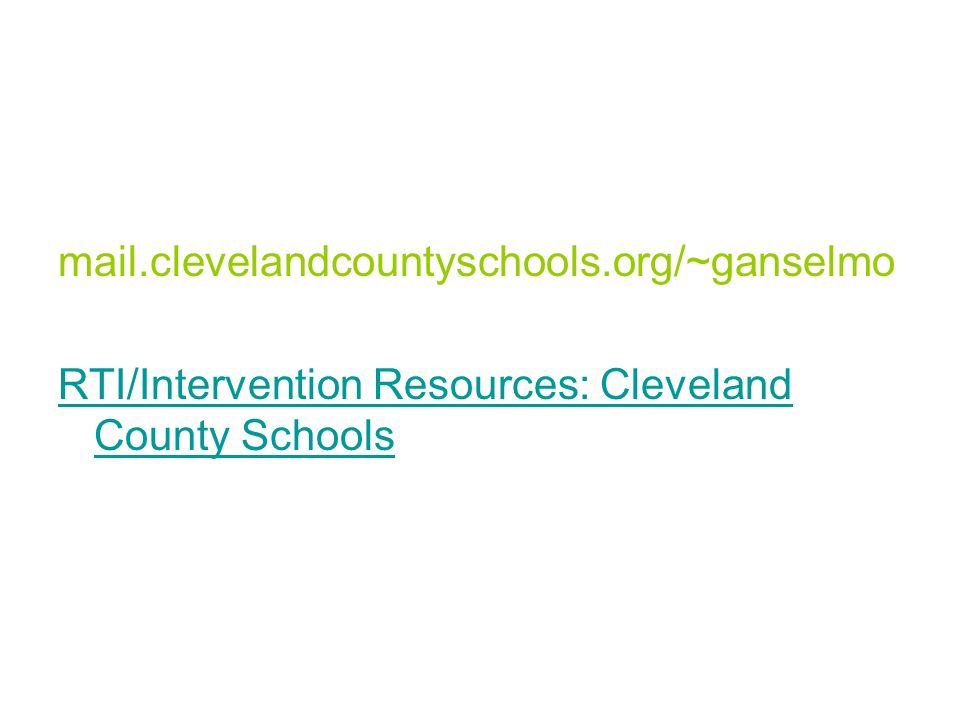 mail.clevelandcountyschools.org/~ganselmo